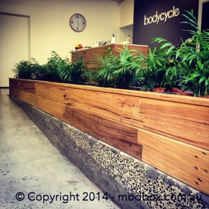 ModBOX planter box for indoor use
