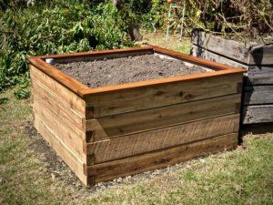 ModBOX raised garden bed installed by Lyn