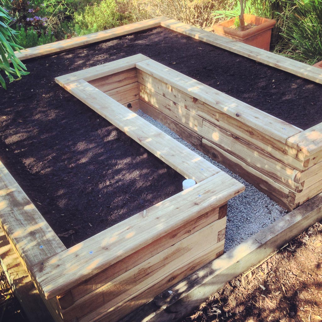 modbox u shape extra layer heavy capping raised garden bed