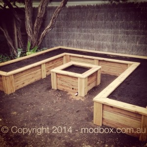 U shaped and square - Raised Garden Beds