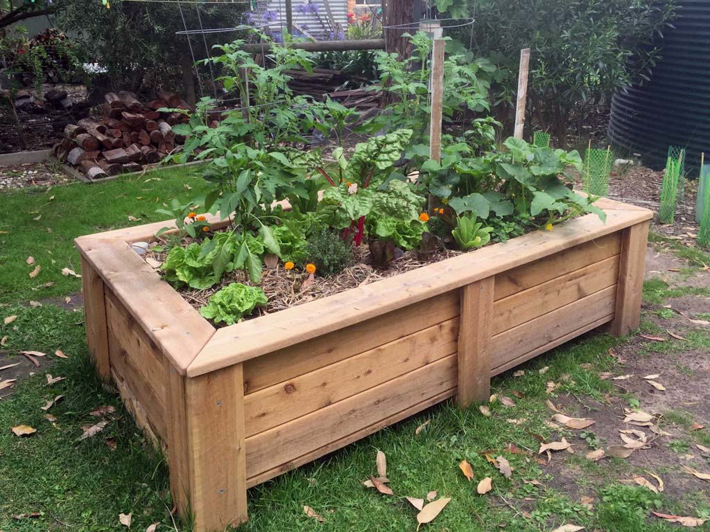 Picture of: Raised Garden Beds Planters On Wheels Sub Irrigation Wicking System In Melbourne